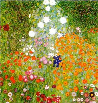 Gustav Klimt - Flowers