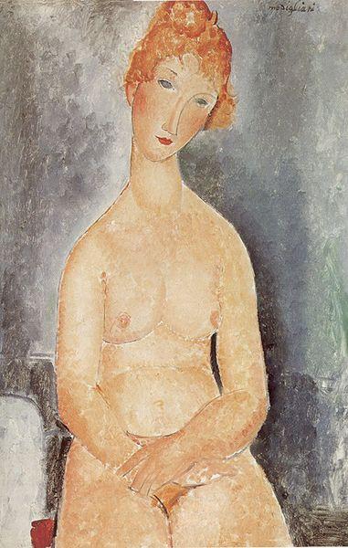 Amedeo Modigliani's Seated Nude