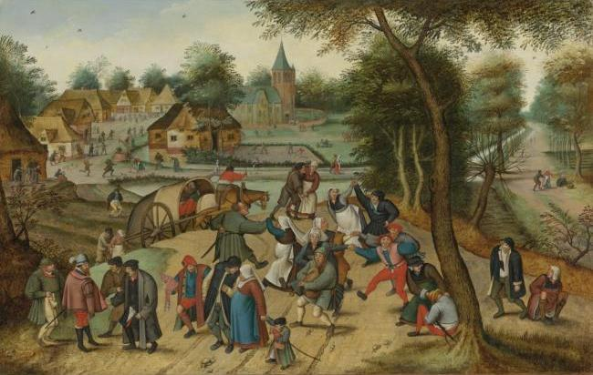 Brueghel - return from Kermesse