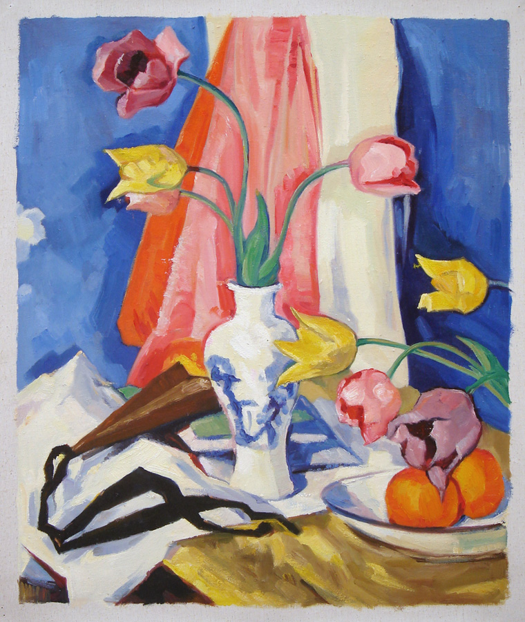 Peploe''s Tulips. Fine art replica by Fabulous Masterpieces