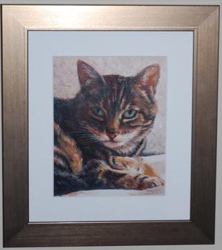 Cat Portraits. Portraits From Photos.