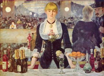 Edouard Manet's A Bar at the Folies-Bergere