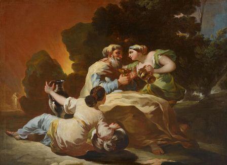 Francisco de Goya, Lot und seine Tochter