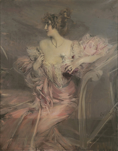 Giovanni Boldini - Portrait of Madam Florian