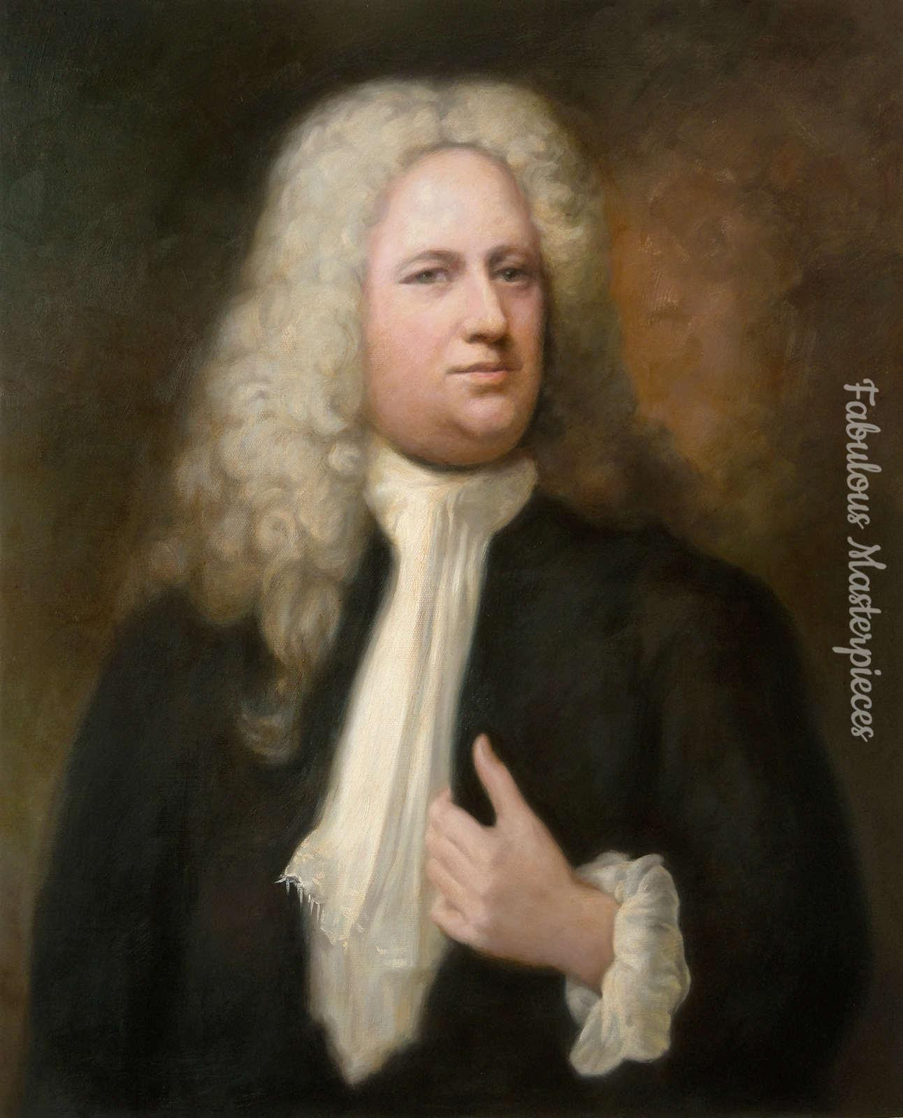 Handel composer portrait