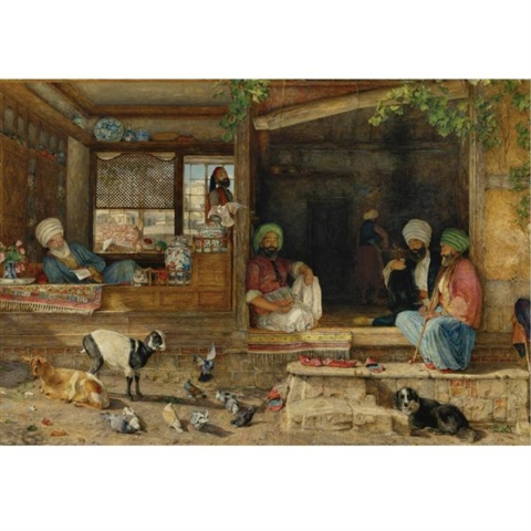 John Frederick Lewis, The Kibab Shop
