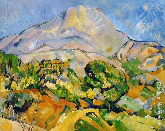 cezanne st victoria mountain