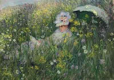 Monet's Dans La Prairie