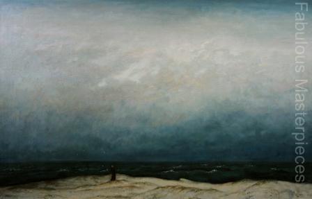 Monk at Sea Freidrich