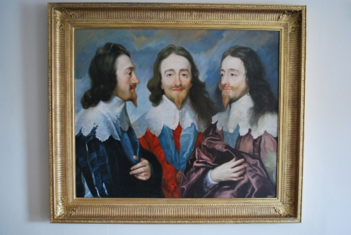 Van Dyck, Charles I King of King, from three angles by