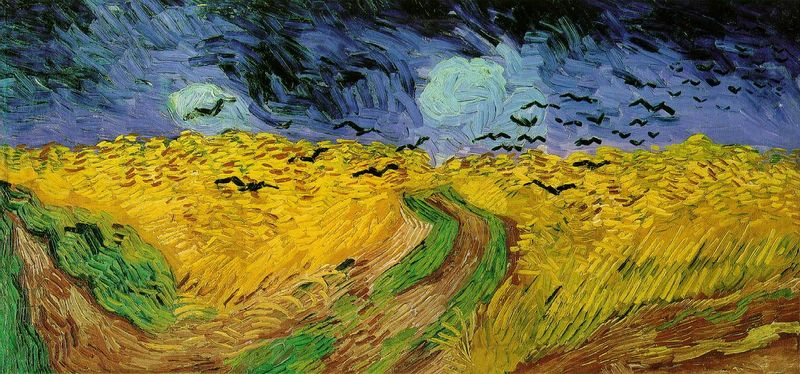 Van Gogh - Wheat Field with Crows