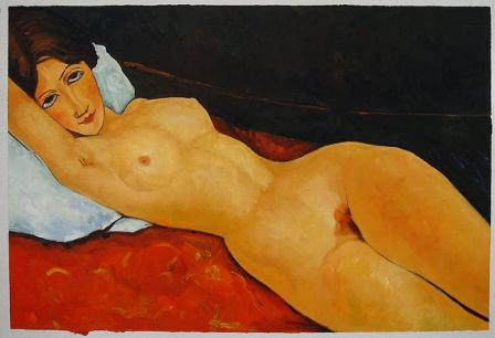 Amedeo Modigliani's Reclining Nude