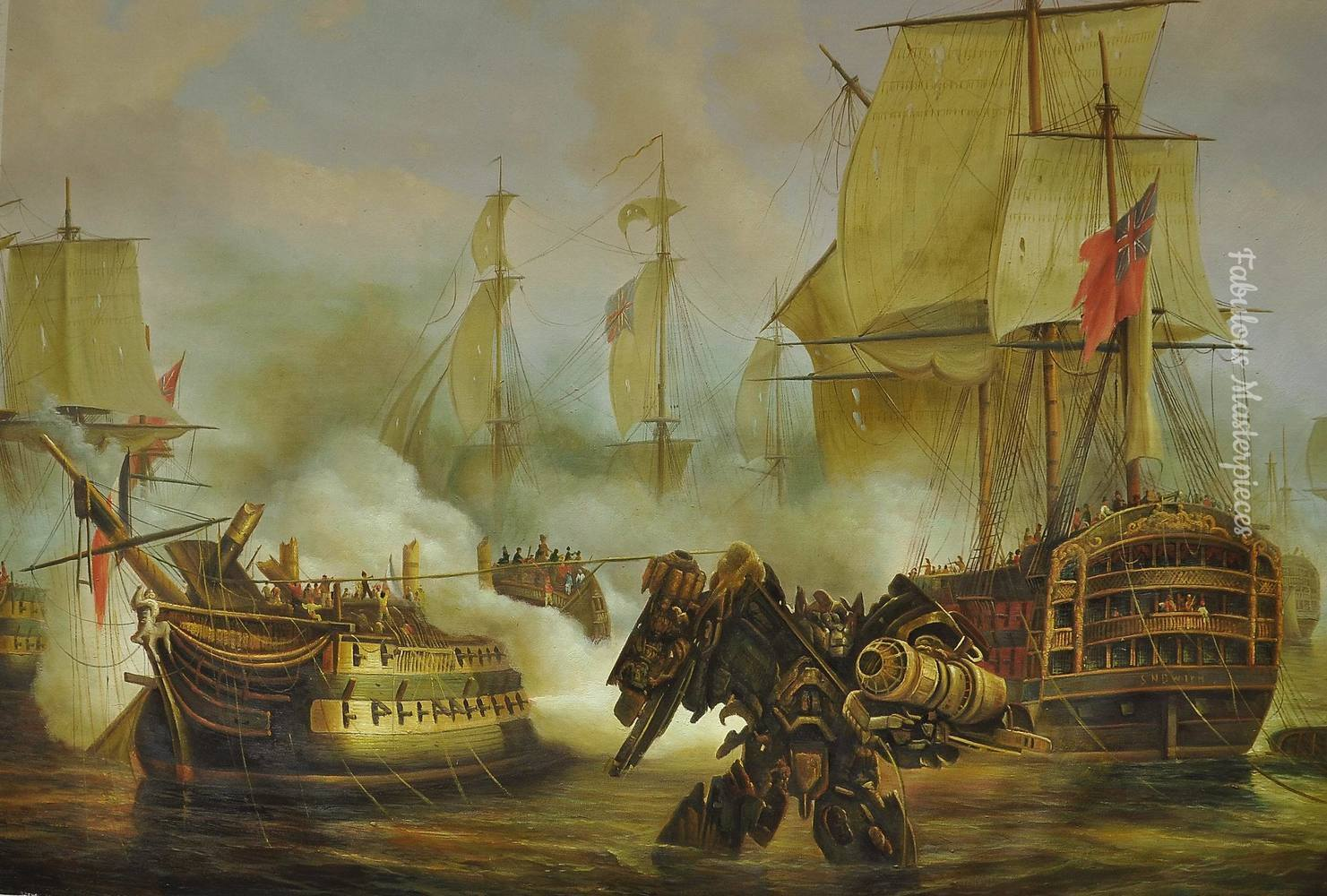 Transformer in Battle of Trafalgar