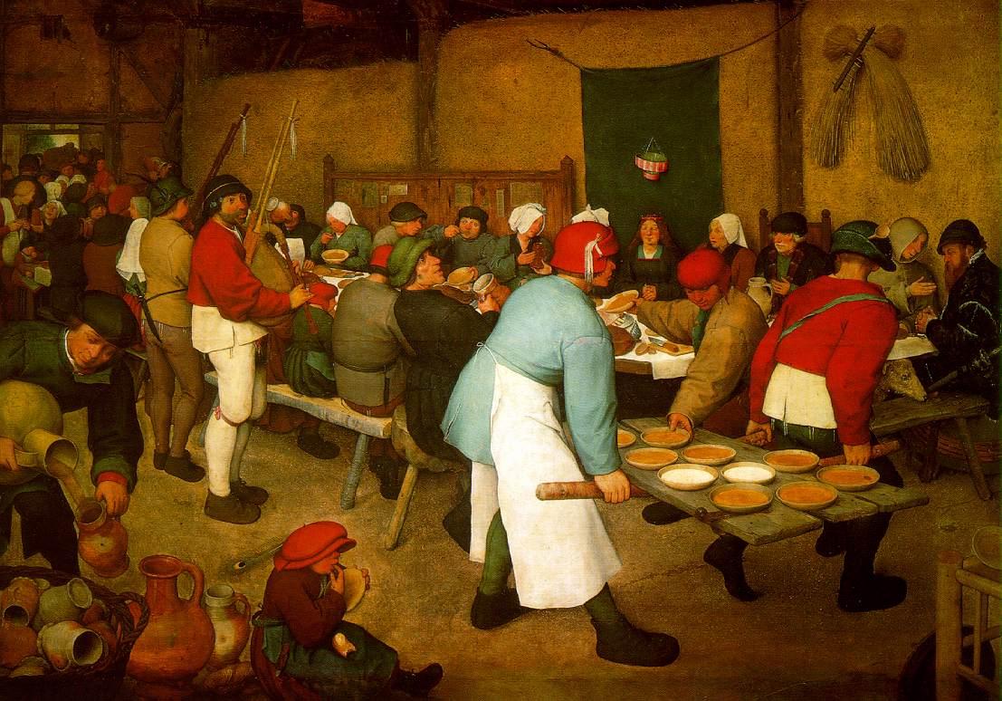 Breughel's The Peasant Wedding