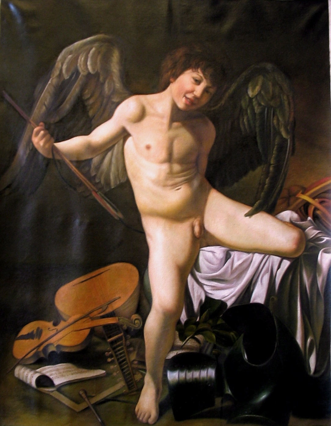 caravaggio love victorious