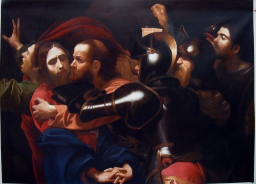 Caravaggio The Betrayal of Christ