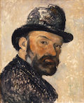 cezanne man in hat