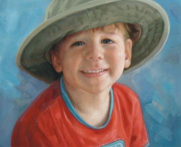 Child Oil Portraits