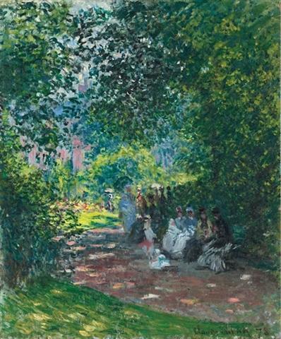 Monet's Parc au Monceau
