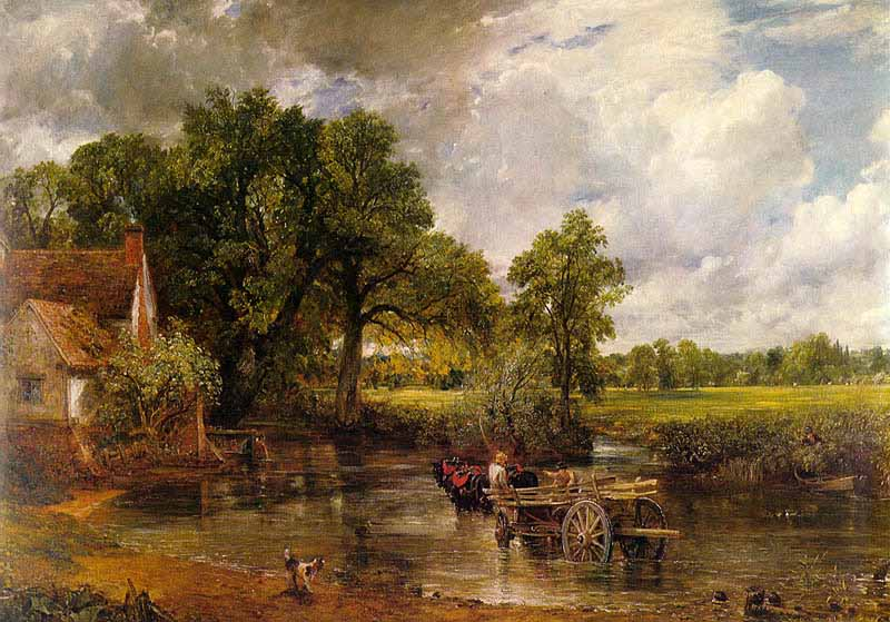 The Haywain by John Constable. Fine Art Reproduction by Fabulousmasterpieces.co.uk