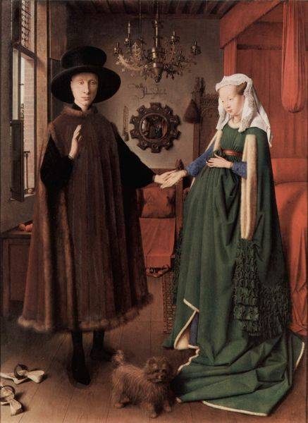 Van Eyck- The Arnolfini Marriage. Fine Art Oil Reproduction by Fabulousmasterpieces.co.uk