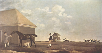 George Stubbs Gimcrack on Newmarket