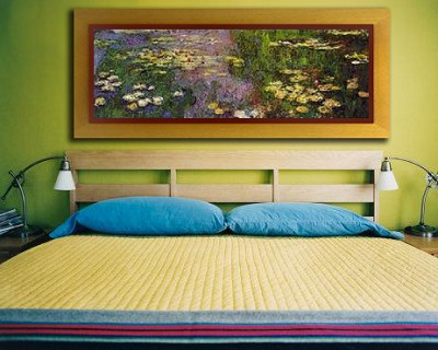 Monet''s Waterlillies by Fabulousmasterpieces.co.uk.