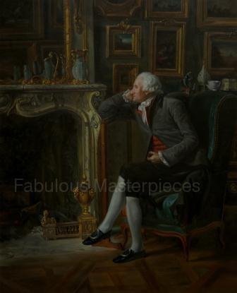 Henri-Pierre Danloux's The Barom de Besenval in his Salon de Compagnie