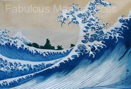 Hokusai's The Great Wave