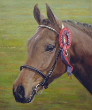 "Bespoke Horse Portrait From Your Photos. 15"" x 18"" - Oil on Canvas."