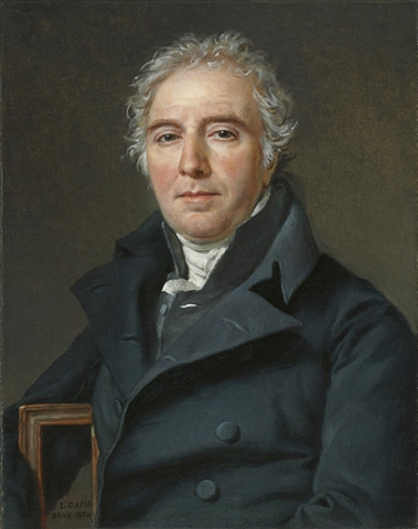 Jaques Louis David - Portrait of Ramel de Nogaret