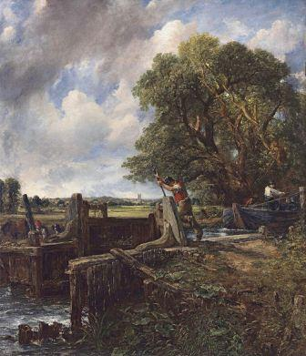 john constable the lock
