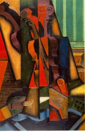 Juan Gris - Violin and Guitar