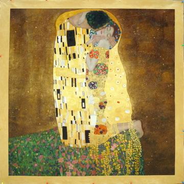 Klimt's The Kiss by Fabulous Masterpieces