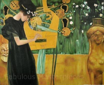 Klimt Music I, 1895