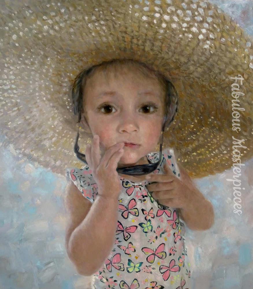 london portrait artist