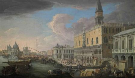 Luca Carlevariis - View of the Molo, Venice