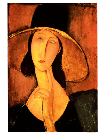 Modigliani - Portrait of a Woman with Hat