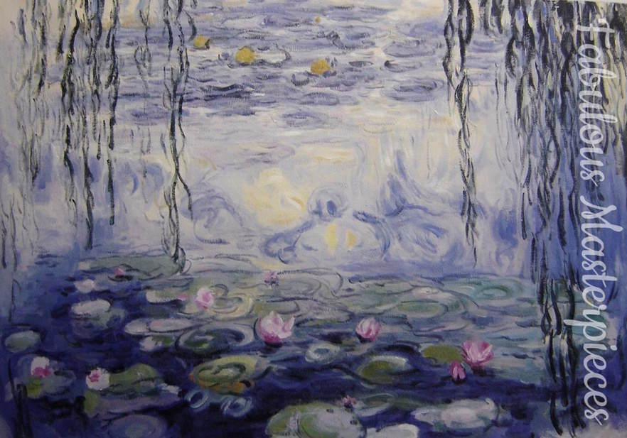 monet waterlilies 1917