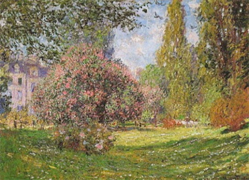 Monet''s Landscape: The Parc Monceau, Paris (1876)
