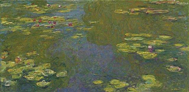 Monet's Le bassin aux nymphéas