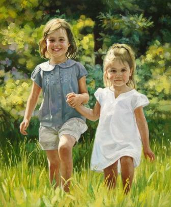 Child Portraits by Portrait Artists