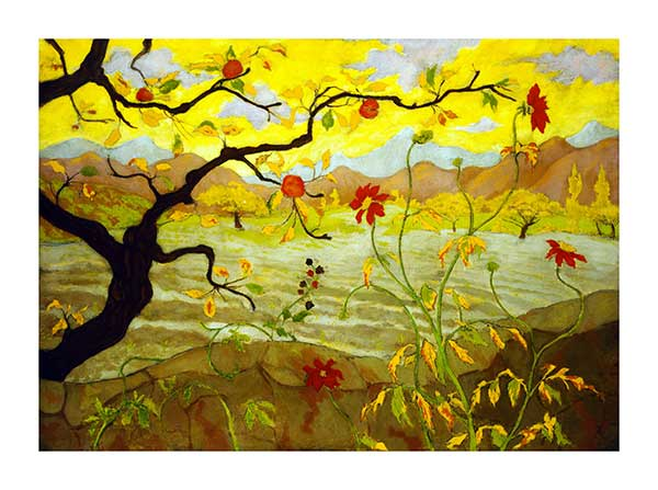 Paul Ranson - Apple tree
