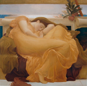 Flaming June with a softer orange by Fabulous Masterpieces