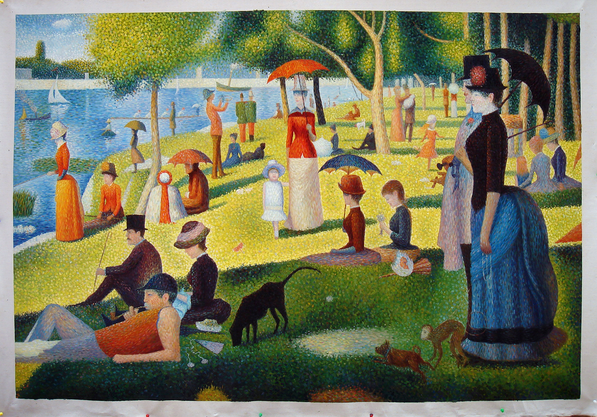 Georges Seurat by Fabulous Masterpieces