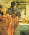 Actress in her Dressing Room by Degas