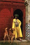 Gerome Arab and Dogs