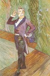 Henry Samary  by Toulouse-Lautrec