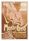 Monte Carlo, Tir aux Pigeons by Adolfo Hohenstein