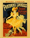 Pantomines Lumineuses by Jules Cheret